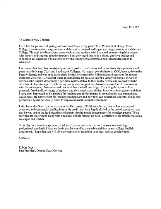 Dees-2012-Letter